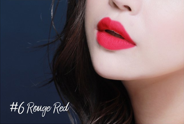 Son Plumeria Color Infusion Matte Lip Rouge Red