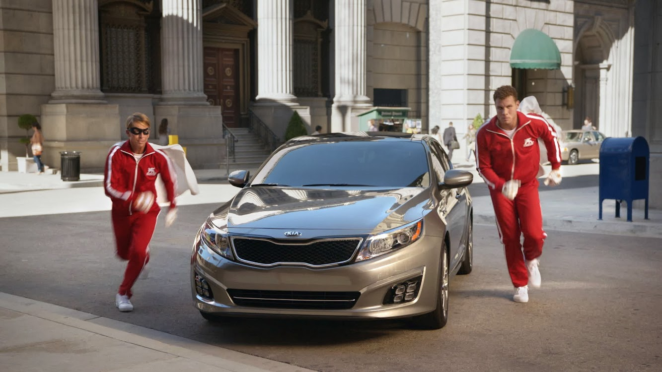 "Kia Optima & NBA All-Star Blake Griffin Introduce ""The Griffin Force"""