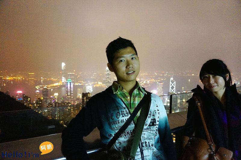 香港夜景,太平山夜景,凌霄閣摩天台