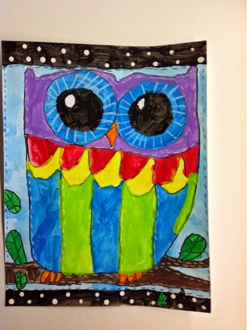 Owl Art Projects For Third Grade