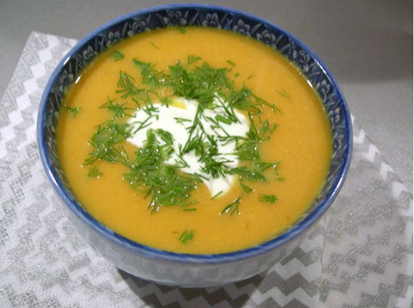 рецепт немецкого тыквенного супа