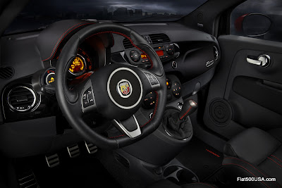 US 500 Abarth dashboard