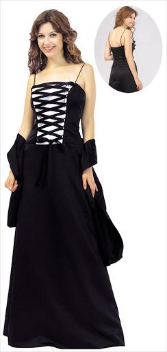 langes schwarzes abendkleid - langes schwarzes kleid kaufen