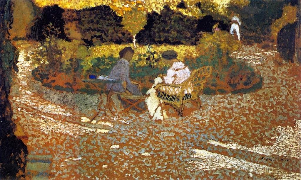 Édouard Vuillard - In the Garden