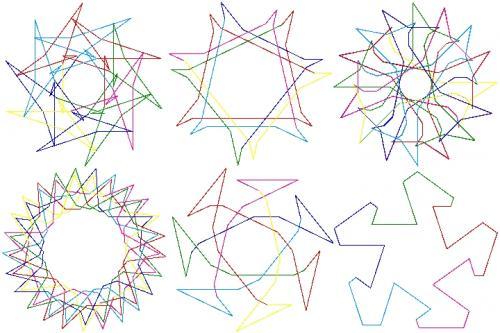 Spirolaterals
