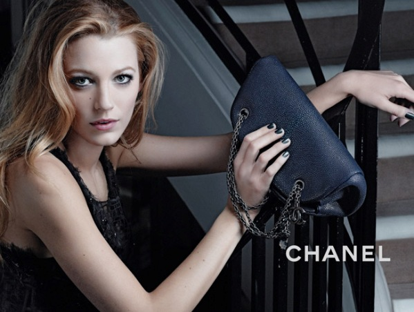 blake lively haircut 2011. lake lively red chanel