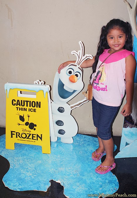 Frozen Olaf | www.mommypeach.com