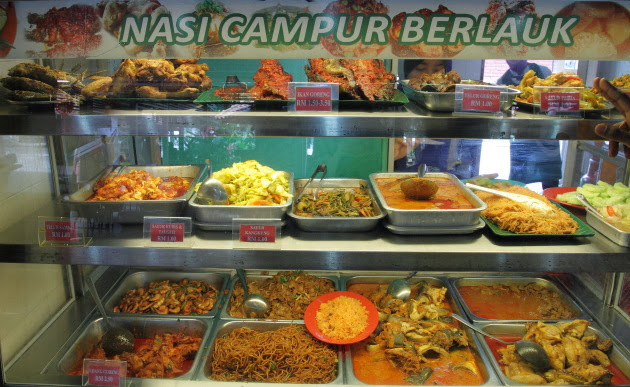 Delicious local food of Malaysia
