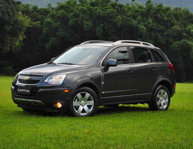 Nova Chevrolet Captiva 2011 Sport V6