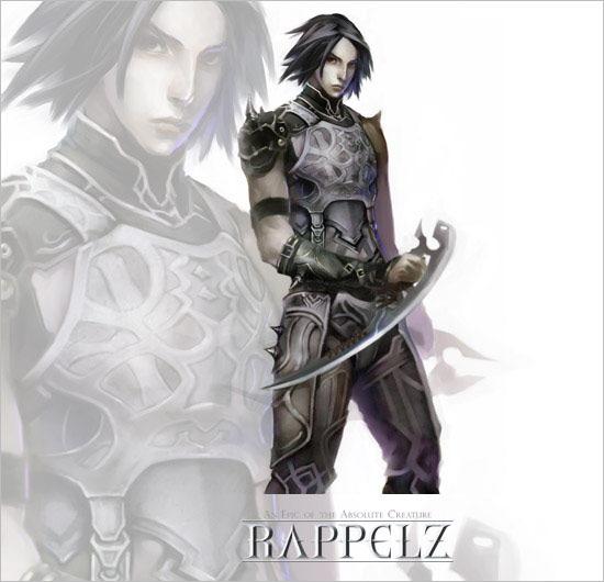 Tạo hình nhân vật của Rappelz Online