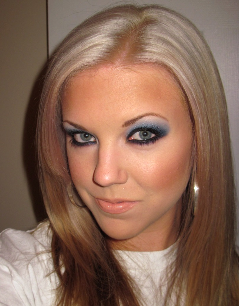 Makeup Hd How I Bleach My Hair And A Kat Von D Blue