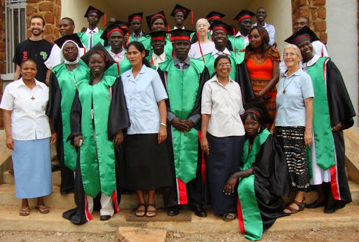 la Cerimonia di Consegna dei Diplomi del primo gruppo di Studenti Infermieri - Classe 2010