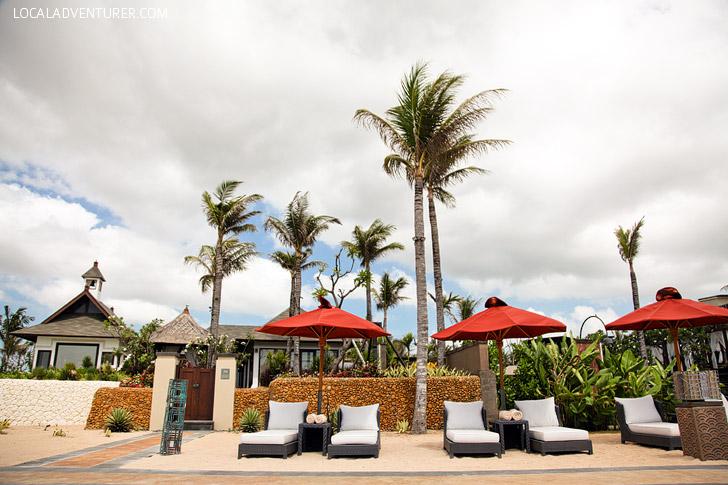 Private Nusa Dua Beach part of St Regis Resorts.