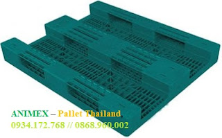 Pallet nhựa mở mặt lưới Thái Lan