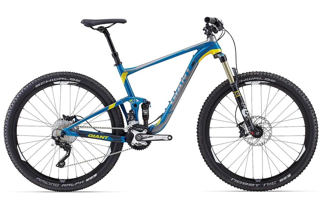 Xe dap the thao dia hinh Giant Anthem SX 27.5, xe dap the thao, xe dap trinx, xe đạp thể thao chính hãng, xe dap asama, Anthem SX 27 5 Blue Yellow