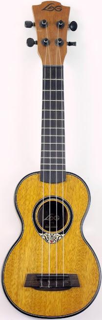 Lâg Uke LAG U77S Acoustic Soprano Ukulele