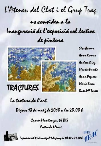 Exposició col·lectiva TRAÇTURES