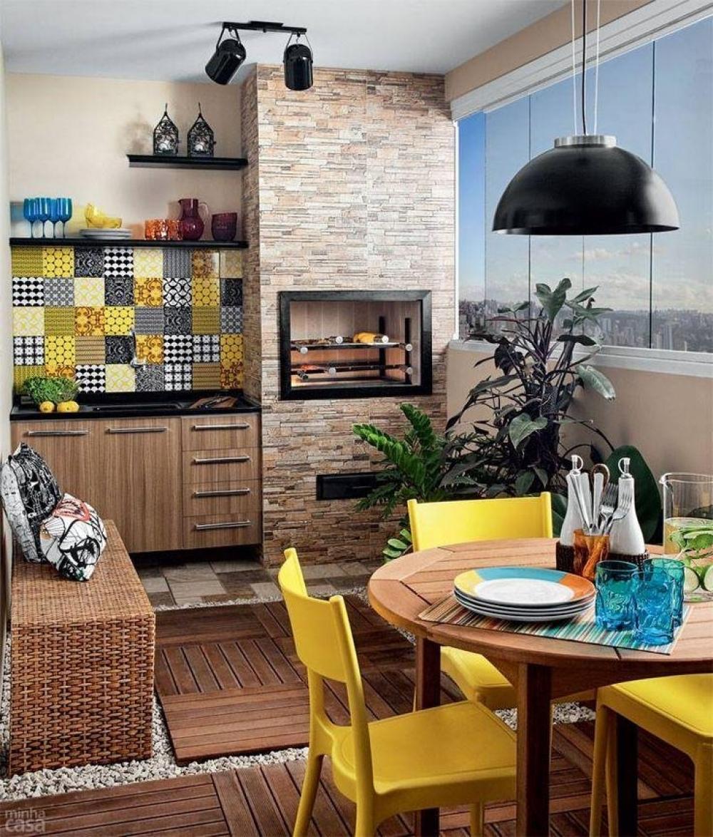 Gạch ốp tường giúp mang lại không gian hiện đại