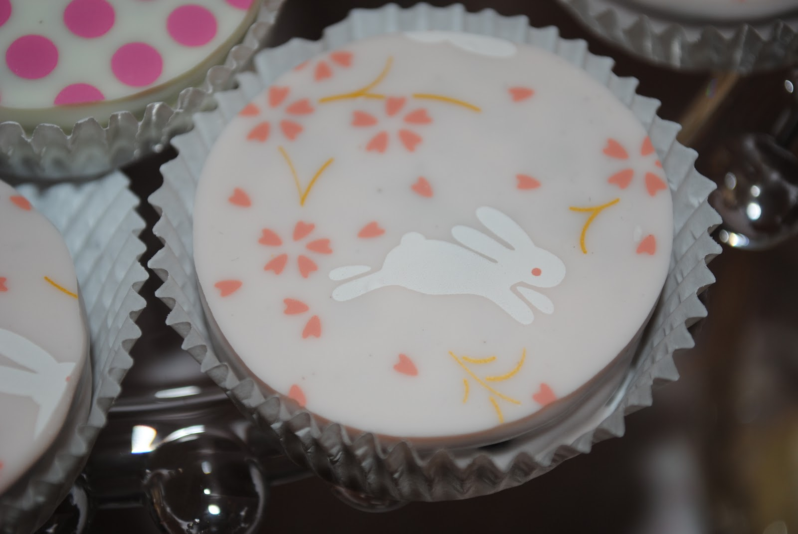 Fanciful Events Sweet Vintage Pink Bunny Christening