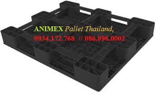 Pallet nhựa hàng vừa Thái Lan