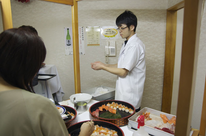 前田朋和さんが握る「うまい!お寿司」