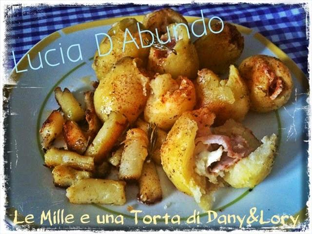 patate ripiene con prosciutto e fontina