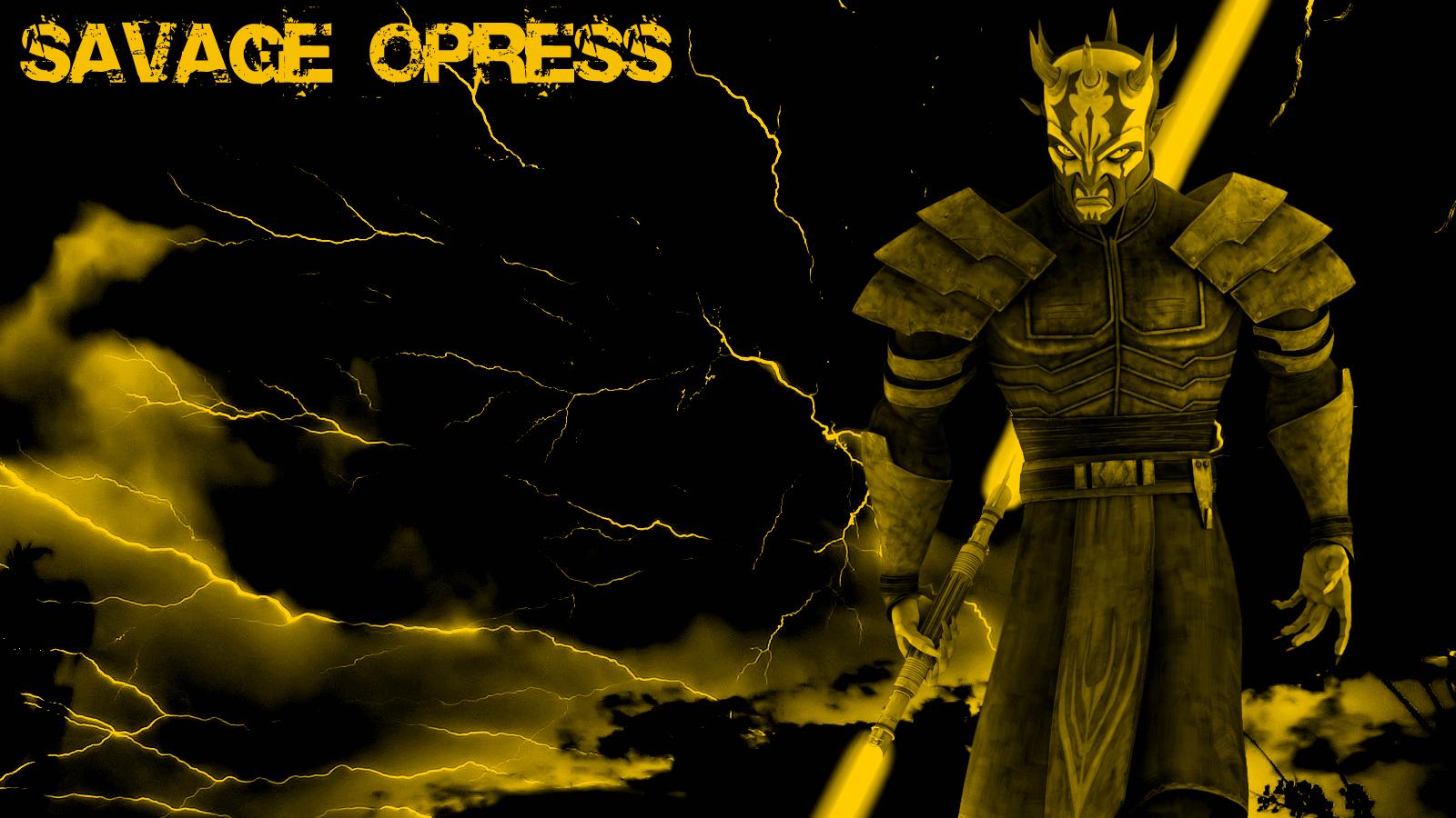 Savage Opress Wallpaper The Star Wars Underworld