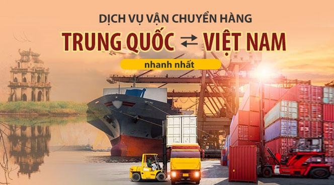 dịch vụ vận chuyển hàng Trung Quốc