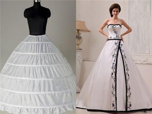jupon six cerceaux et robe de bal - Jupon Mariage 3 Cerceaux