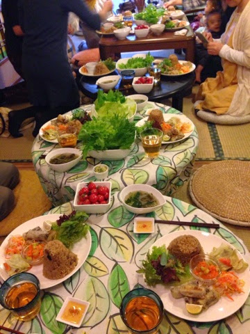 仙台で行ったシークレットベトナムカフェの様子