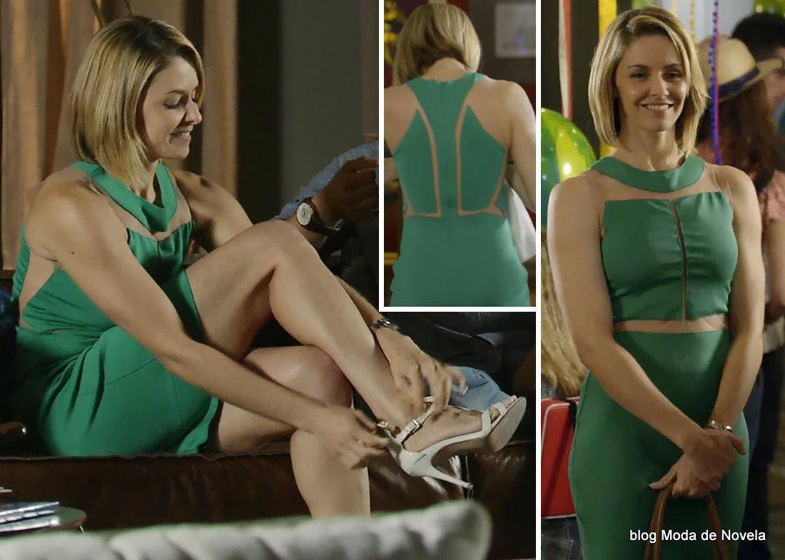 moda da novela Em Família - look da Silvia dia 21 de junho