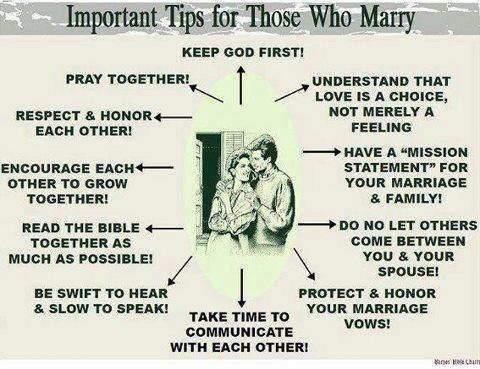 Christian couple works