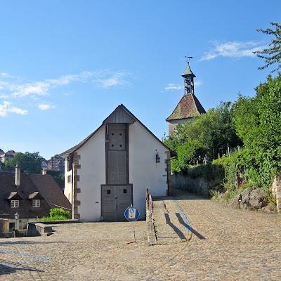 Das Zeugheus im schweizerischen Laufenburg