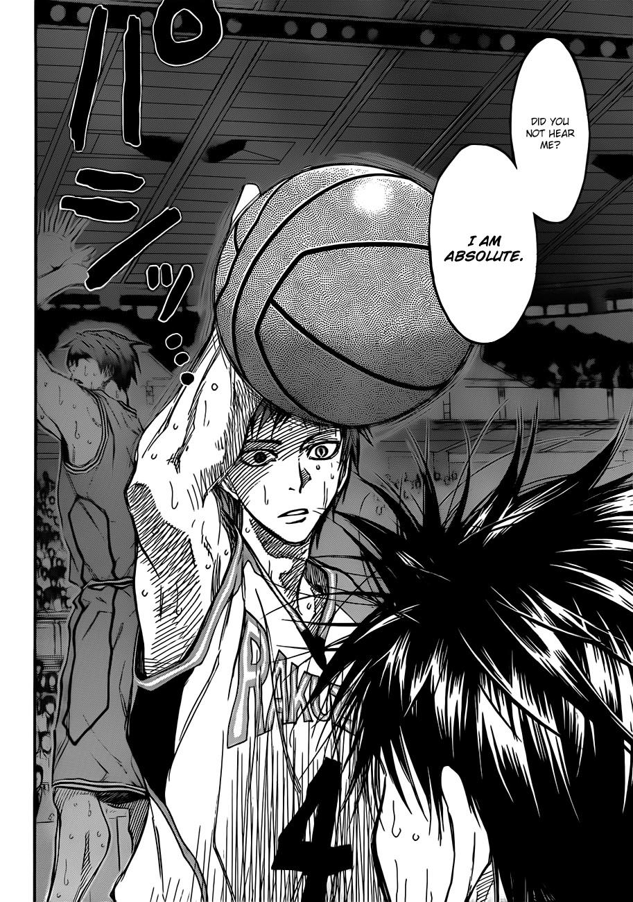 Kuroko no Basket Manga Chapter 182 - Image 08
