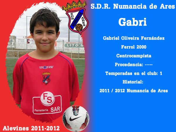 ADR Numancia de Ares. Alevíns 2011-2012. GABRI.