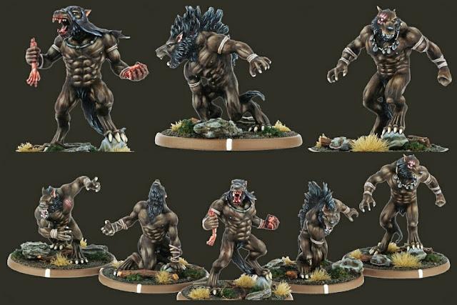 Hombres lobo Mierce-Miniatures