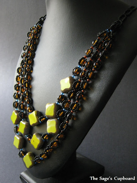 Lime Leopard Necklace