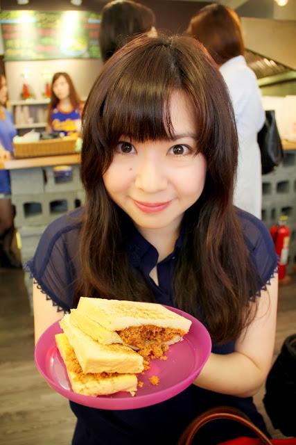 台北 士林 豐盛號 碳烤三明治