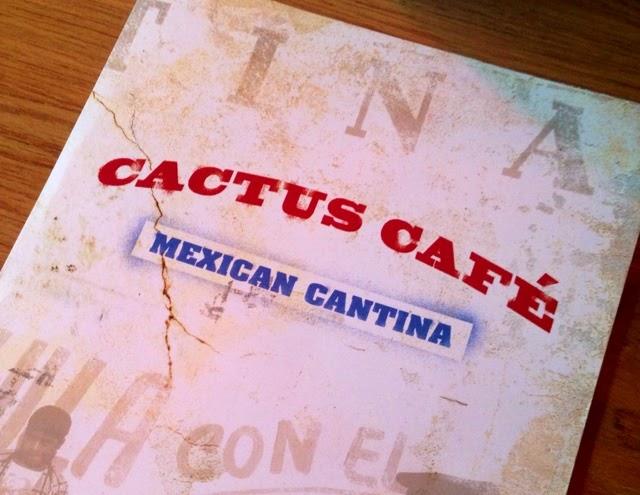 Cactus Cafe Menu