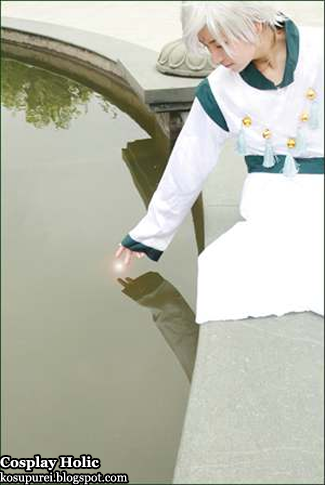 sailor moon supers cosplay - helios / pegasus