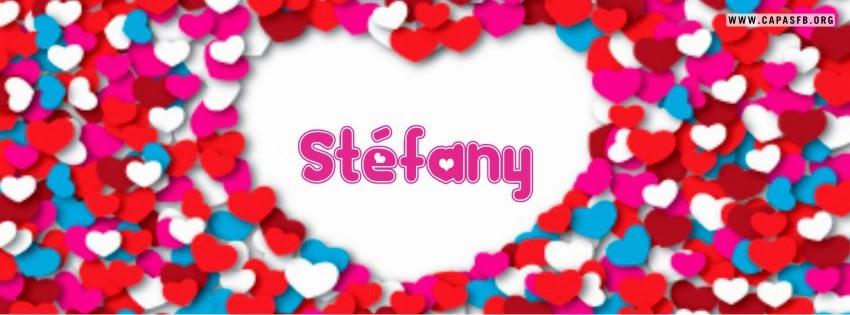 Capas para Facebook Stéfany