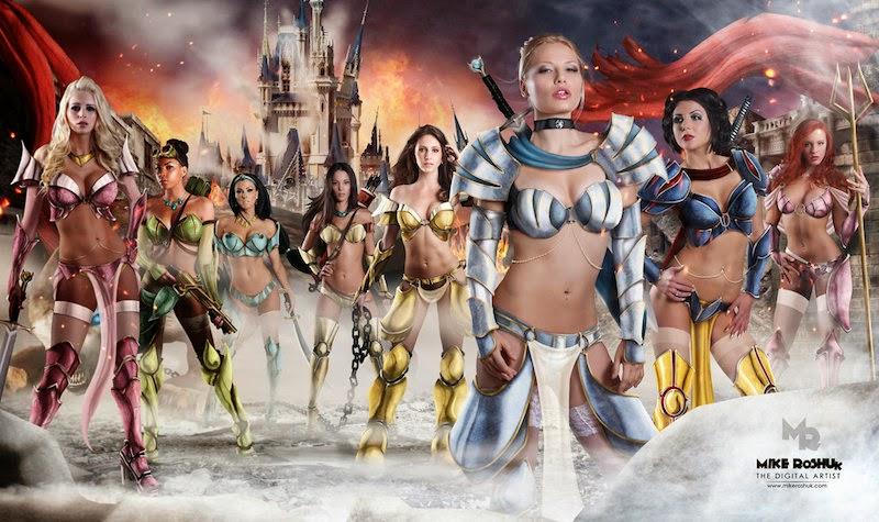 Sexy Warrior Princesses 9
