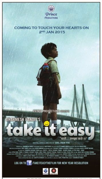 Cover of Take It Easy (2015) Hindi Movie Mp3 Songs Free Download Listen Online at Alldownloads4u.Com