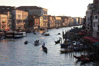 Vista da Ponte do Rialto - Grande Canal de Veneza