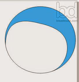 Gambar 03. Menggambar Doraemon dengan Corel Draw