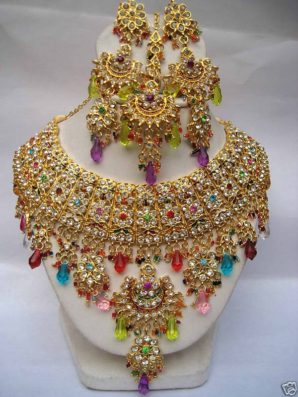 wedding bridal jewellery necklace