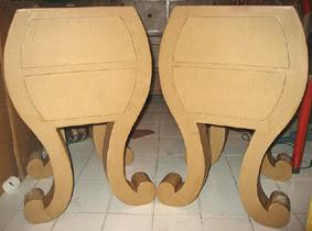 Mesillas de cartón