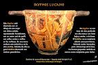 Lucano figuras rojas: Skyphos. Cultura griega