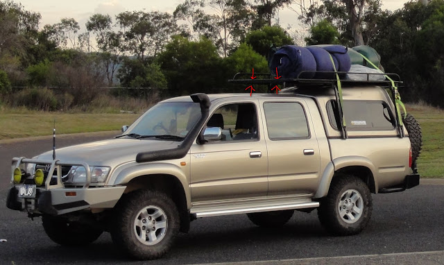 Roof Rack Wind Deflector 4x4earth