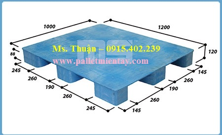 Pallet nhựa Malaysia SFH-1210